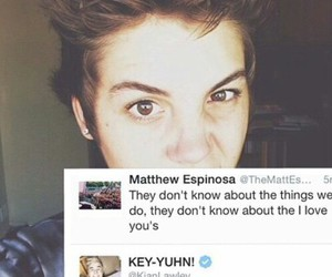tweet, kian lawley, and matt espinosa image