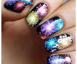 nails and fireworks image