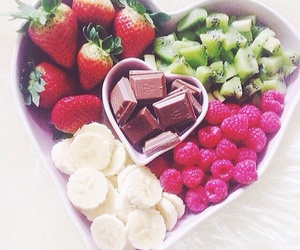 fruit, chocolate, and food image
