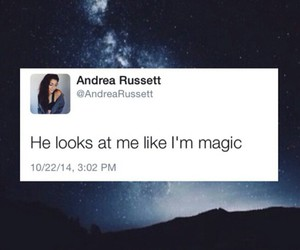 tweet and andrea russett image