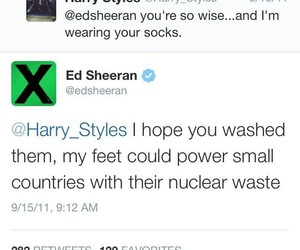 funny, twitter, and sheeran image