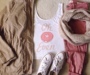 cloth, converse, and fashionable image