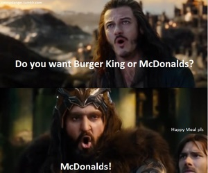 McDonalds, food, and funny image