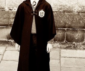 childhood, draco malfoy, and harry potter image