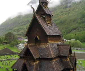 norway, church, and house image