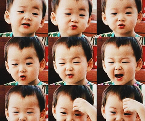 triplets, cute, and minguk image