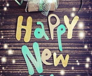 happy new year and happy image