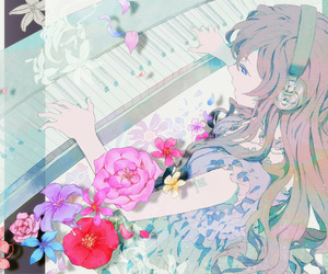 anime and piano image