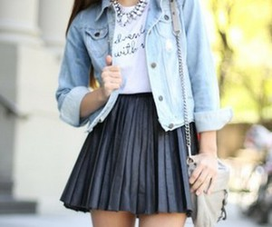 chic, girl, and clothes image