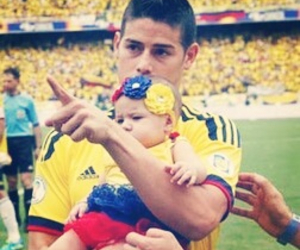 james rodriguez and colombia nt image