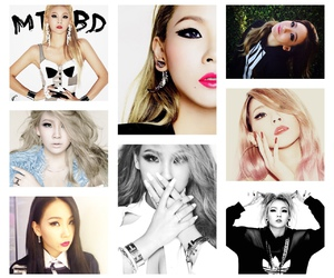 2ne1, beautifull, and black image