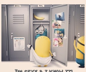 minions, funny, and sexy image