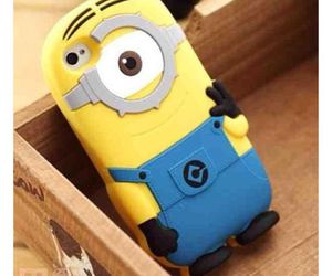 minions, gift, and iphone cases image