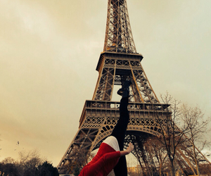 christmas, dance, and eiffel tower image