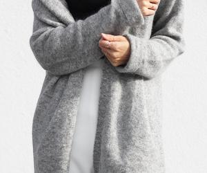 cardigan, cozy, and fashion image