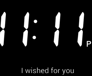 11:11 and wish image