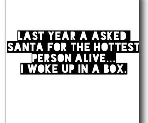 santa, Hot, and beautiful image