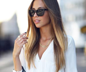 brunette, hair, and hairfashion image