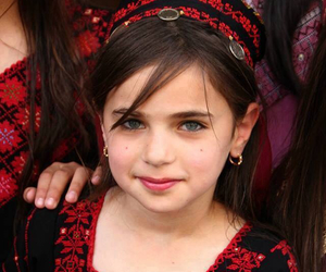 beauty, girl, and palestine image