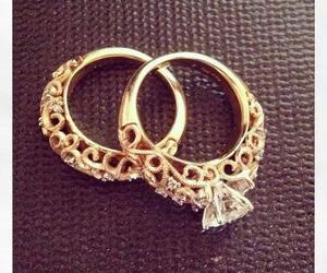 diamond, life, and rings image