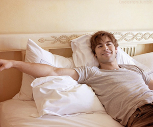 bed, Chace Crawford, and gossip girl image