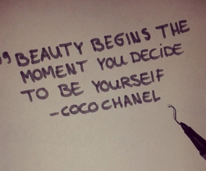 be yourself and coco chanel image