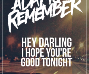 a day to remember, Lyrics, and adtr image