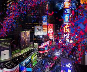 new year, new york, and city image