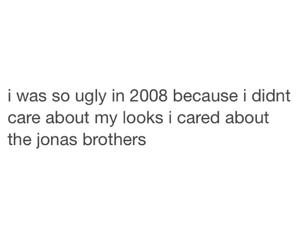 jonas brothers, ugly, and funny image