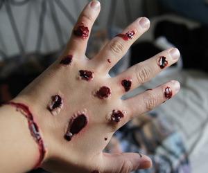 blood, makeup, and sfx image