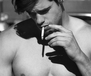 Hot, black and white, and boy image