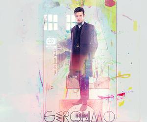 doctor who, Geronimo, and tardis image