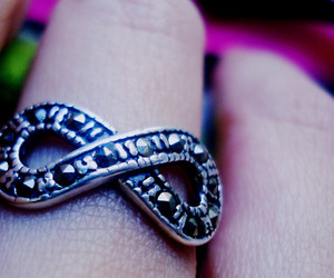 infinito, infinity, and ring image