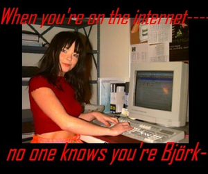 bjork, lol, and soft grunge image