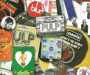blur, oasis, and pulp image
