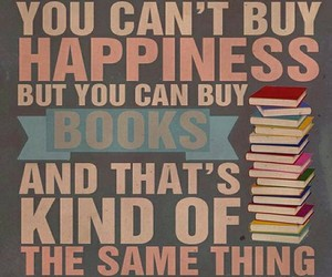 book, happiness, and quotes image