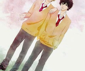 anime, kou, and ao haru ride image
