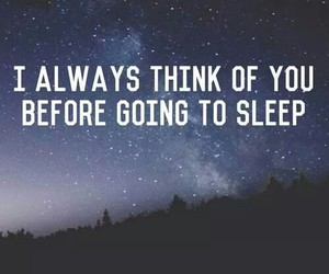 love, quote, and sleep image