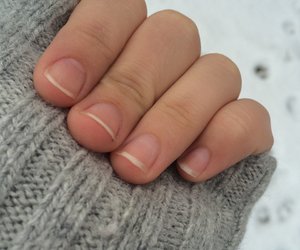 fingers, grey, and nails image