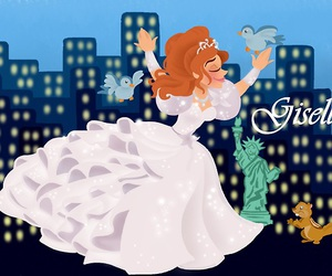 disney and giselle image