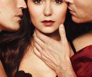 elena, stefan, and tvd image