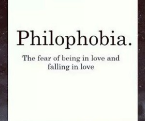 fear, quote, and love image
