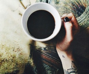 coffee, black, and hipster image