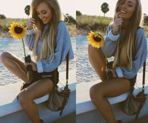 perfect, pretty, and sunflower image
