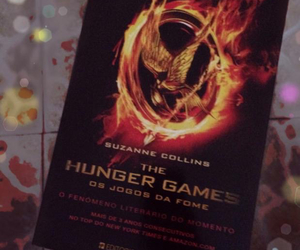 book, the hunger games, and love image