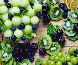 fit, fruit, and green image