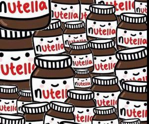 delicious, yummy, and nutella image