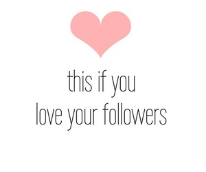 followers, heart, and love image