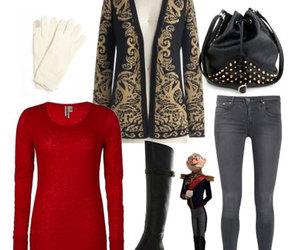 disney, fashion, and frozen image