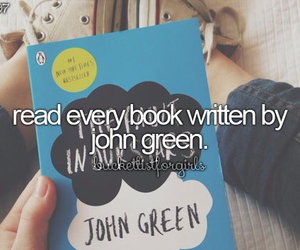 book, john green, and read image